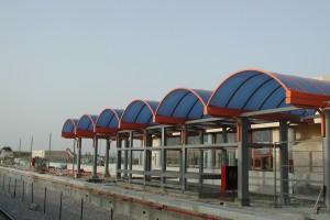 קירוי תחנת רכבת אשקלון